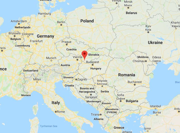 Дунайська Стреда - ідеальне георгафічне положення