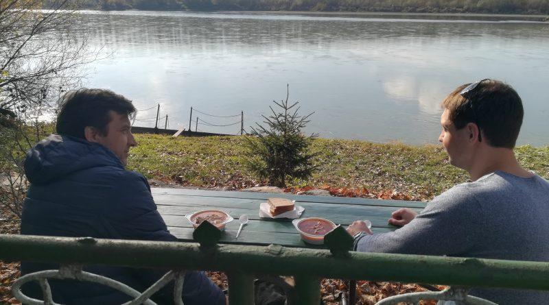 На березі Дунаю